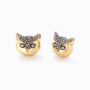 Stella & Dot Jewelry - Stella & Dot Pave Owl Studs